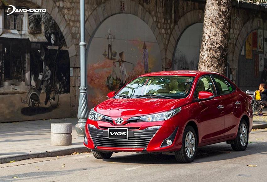 Toyota Vios nổi tiếng với sự bền bỉ, chi phí vận hành tiết kiệm và giá trị cao khi bán lại