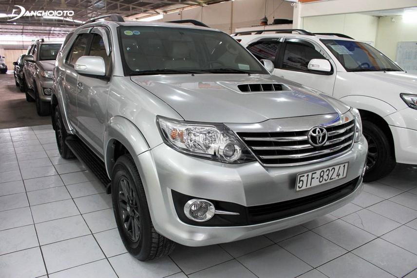 Toyota Fortuner được phần lớn người dùng đánh giá là có thân vỏ mỏng
