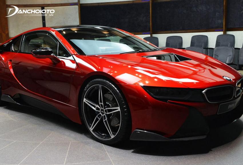 BMW i8 Protonic Red Edition màu đỏ Protonic