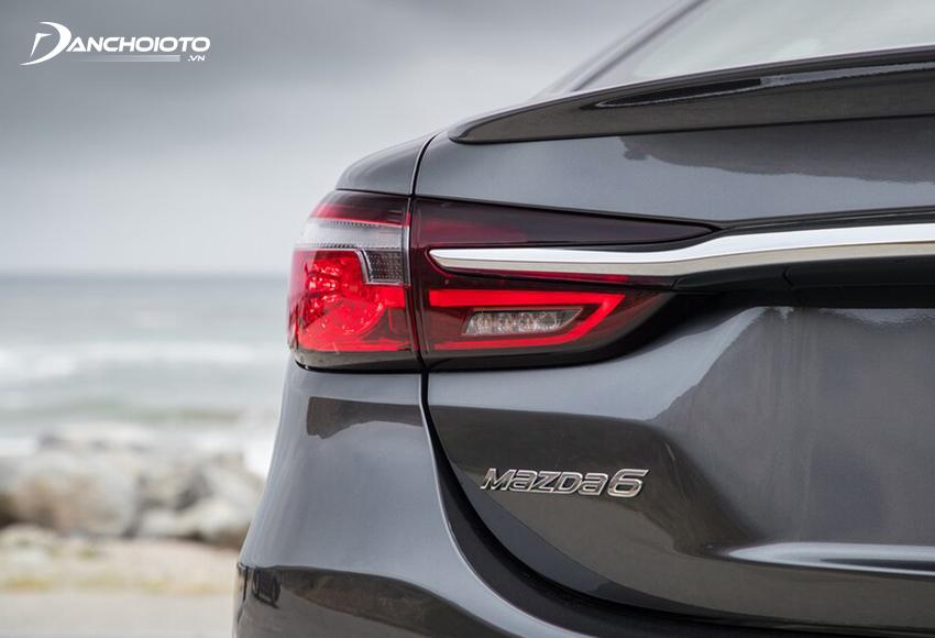 Cụm đèn hậu LED Mazda 6 2020 có đồ hoạ mới phong cách 3D sắc sảo hơn