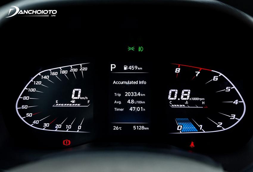 Cụm đồng hồ mới trên Hyundai Accent 2021