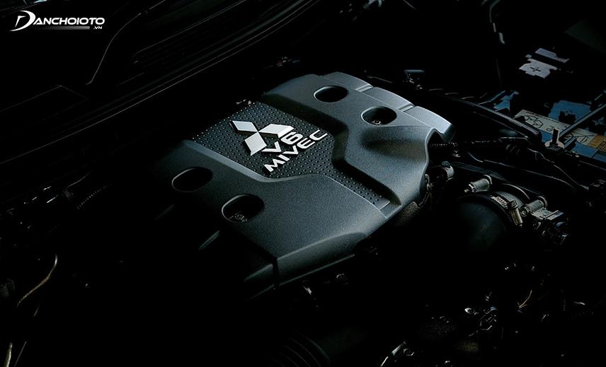 Động cơ xe Mitsubishi Pajero Sport