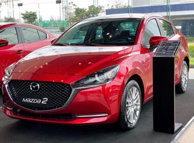 Giá xe Mazda 2 tháng