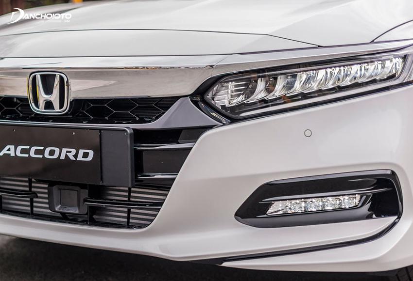 """Hệ thống chiếu sáng trước của Honda Accord 2020 được trang bị công nghệ """"full LED"""", thiết kế rất bắt mắt"""