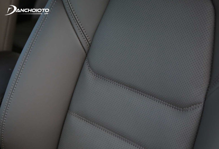 Hệ thống ghế Mazda CX-5 2020 được bọc da cao cấp cho tất cả các phiên bản