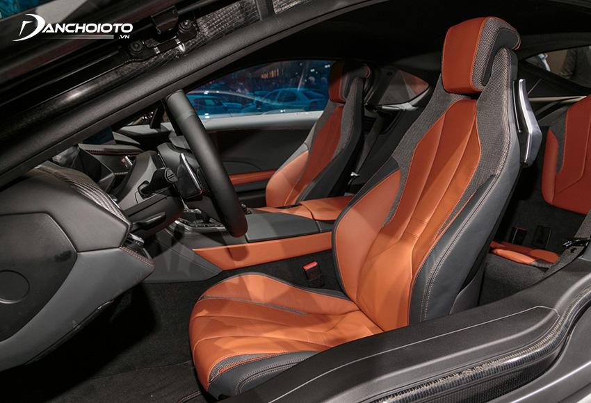 Hệ thống ghế ngồi xe BMW i8