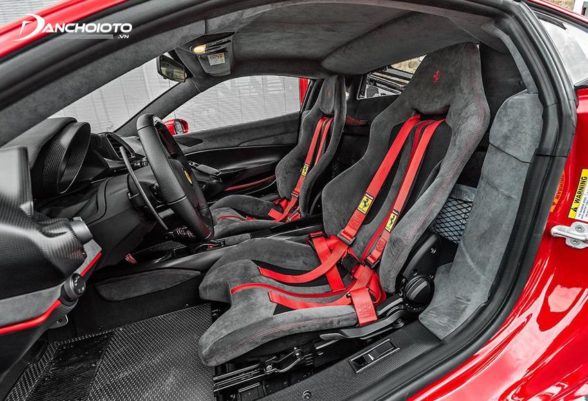 Hệ thống ghế siêu xe Ferrari 488