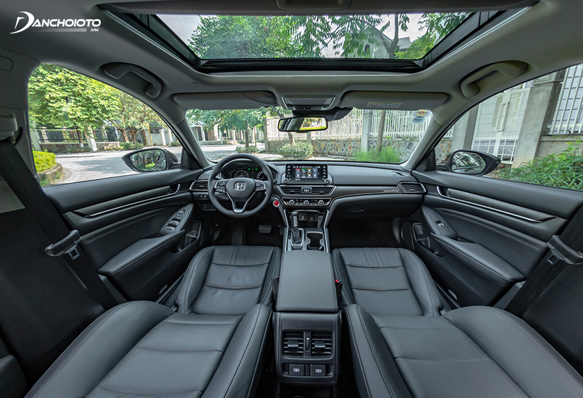 Honda Accord 2020 mở ra một không gian rộng rãi bậc nhất phân khúc
