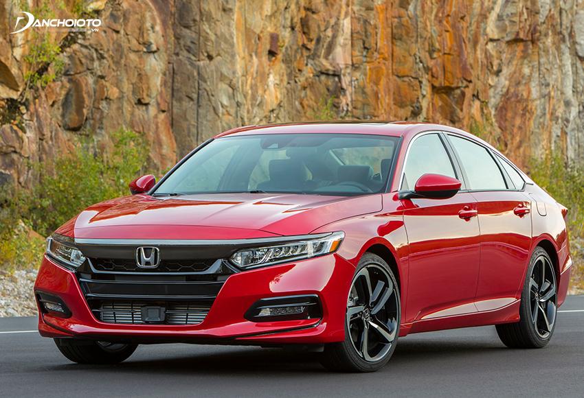 Honda Accord thiết kế lịch lãm, đĩnh đạc lại mang phong cách Coupe