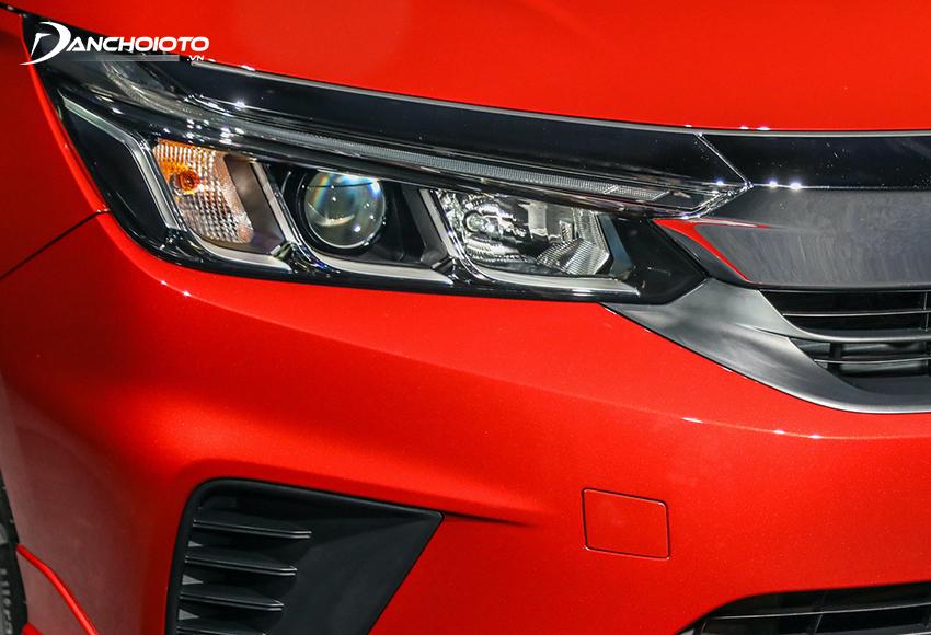Honda City G và L vẫn chỉ dùng đèn Halogen nhưng có thêm Projector