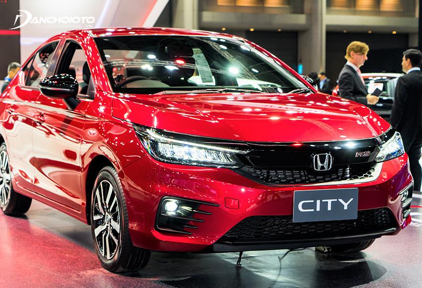 Honda City theo phong cách chững chạc