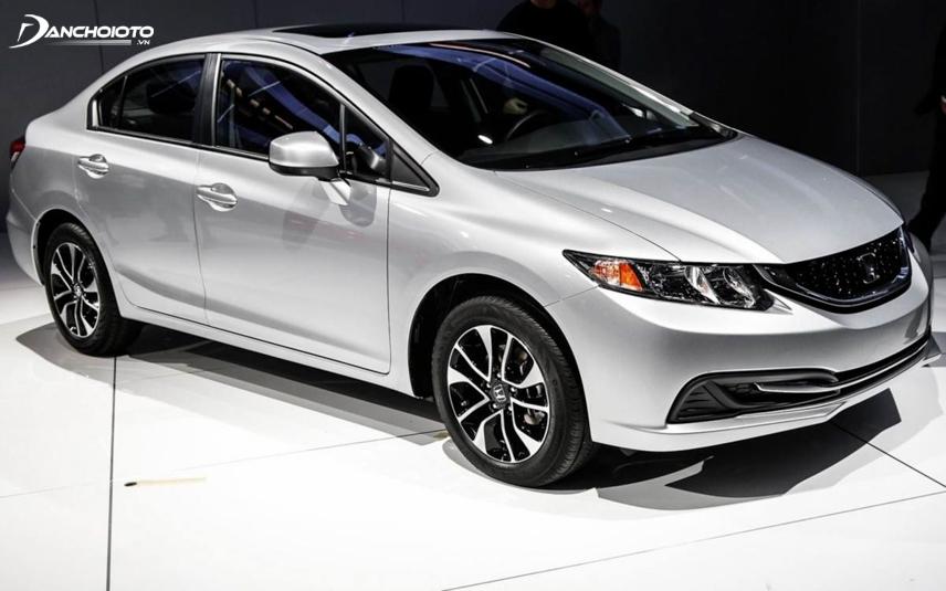 Honda Civic 2013 - 2014 mang nét đặc trưng cho thế hệ thứ chín