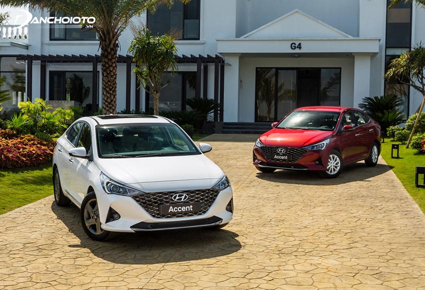Hyundai Accent 2021 có 3 phiên bản 1.4 MT, 1.4 AT và 1.4 đặc biệt