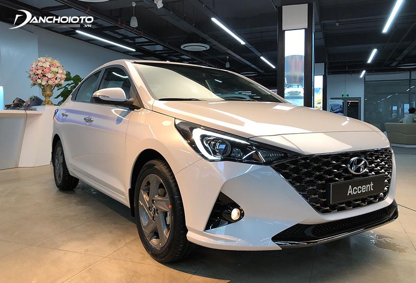 Hyundai Accent có thế mạnh về giá bán, thiết kế và trang bị