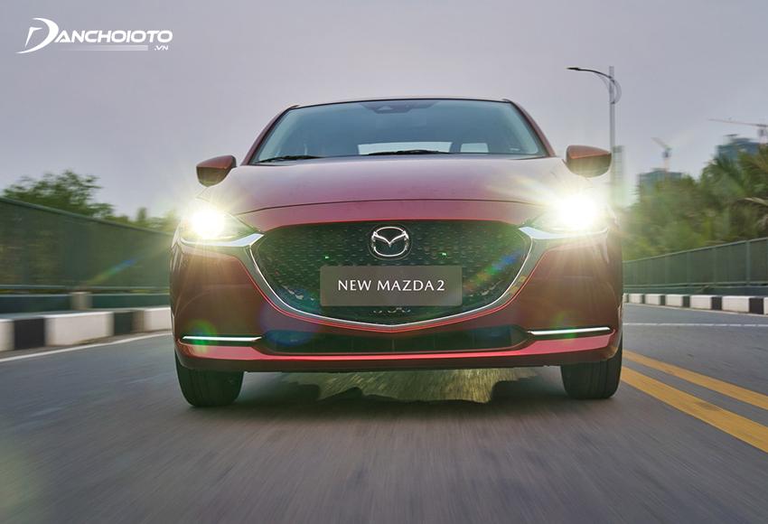 Khả năng cách âm Mazda 2 2020 đã được cải thiện đáng kể