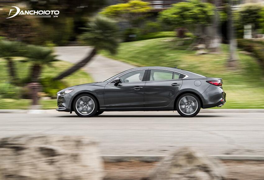 Khả năng cách âm Mazda 6 cũng được đánh giá cao