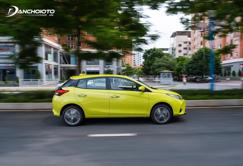 Khả năng cách âm Toyota Yaris được đánh giá khá tốt