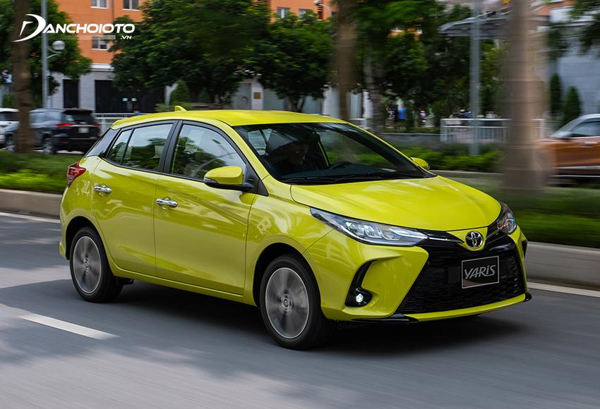 """Khối động cơ 1.5L cho công suất đầu ra 107 mã lực trên Toyota Yaris được đánh giá """"đủ dùng"""" với nhu cầu của người dùng phân khúc này"""