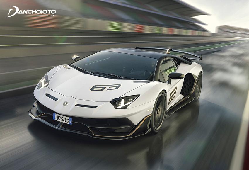 Lamborghini Aventador SVJ 63 Edition
