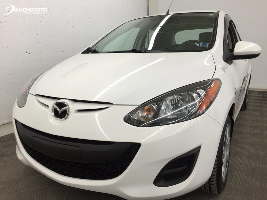 """Mazda 2 2012 - 2013 nổi bật với thiết kế mặt cười """"Zoom zoom"""""""