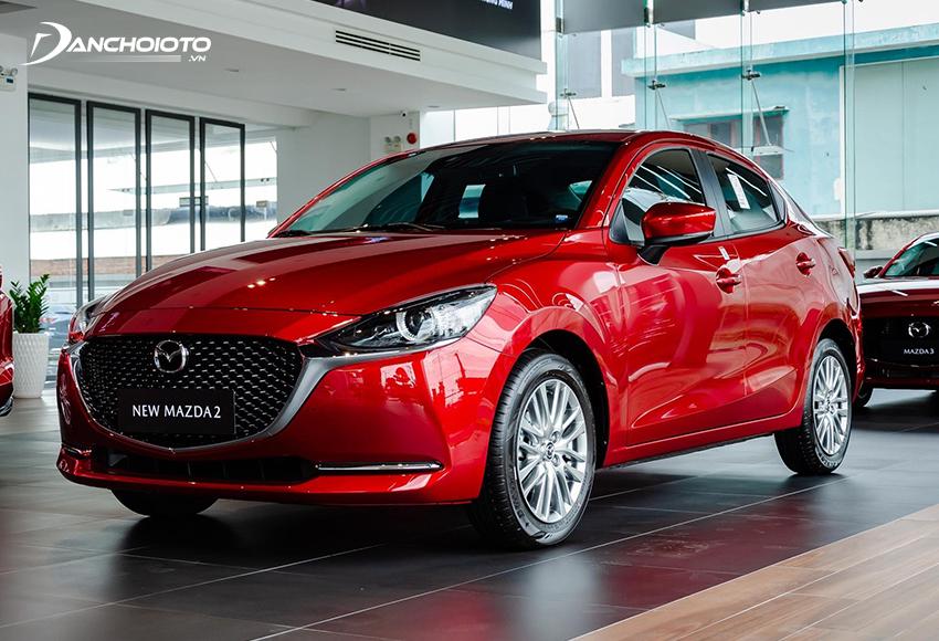 Mazda 2 được xếp ở nhóm cao cấp và sang trọng hơn