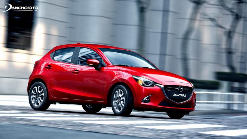 Mazda 2 là một mẫu xe hạng B của hãng sản xuất oto Mazda Nhật Bản