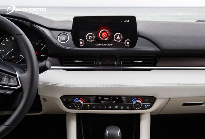 Mazda 6 2020 được nâng cấp màn hình cảm ứng trung tâm từ 7 inch lên 8 inch