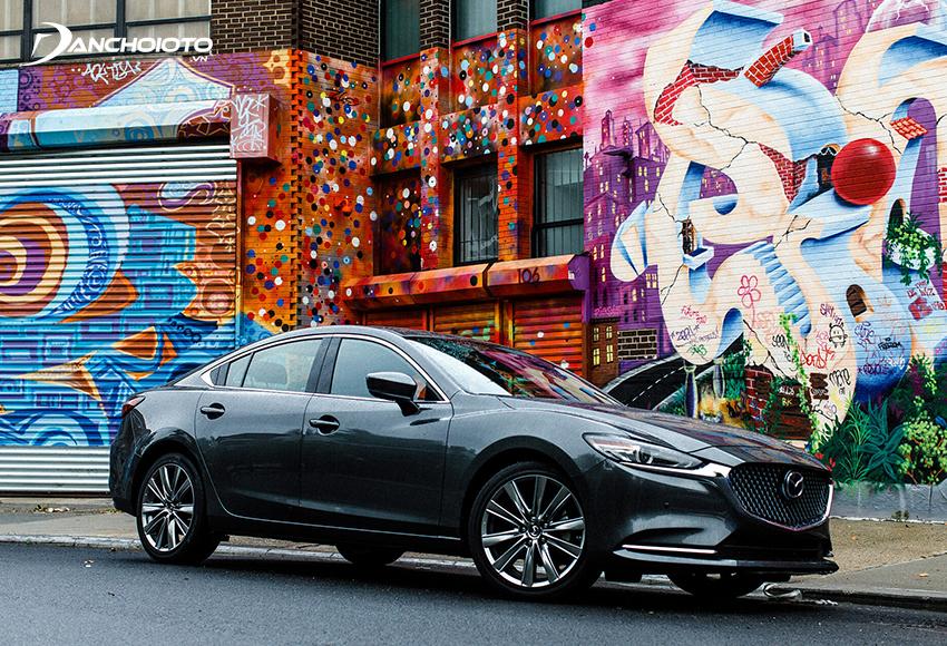 Mazda 6 2020 thiết kế mới sang trọng, thời trang hơn