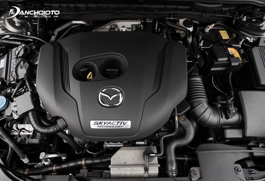 Mazda 6 2020 vẫn sử dụng động cơ 2.0L và 2.5L như trước nhưng đã có sự tinh chỉnh