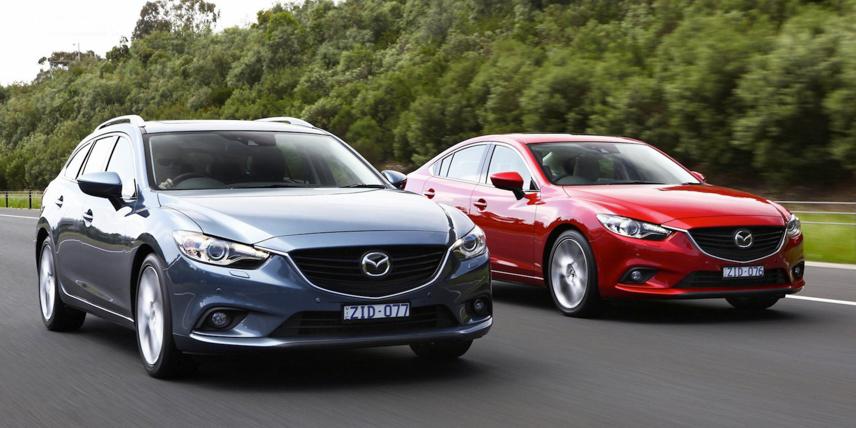 Mazda 6 đời 2012 - 2013 đã được trang bị động cơ SkyActiv dung tích 2.0L và 2.5L