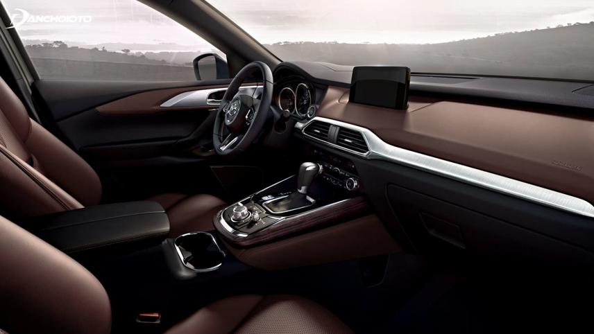 Mazda 6 facelift 2018 - 2019, nội thất xe được tinh chỉnh lại tạo hiệu ứng thị giác không gian rộng hơn về chiều ngang