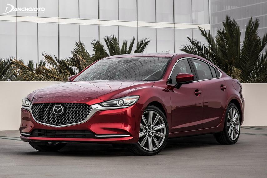 Mazda 6 là mẫu xe sedan hạng D của Mazda
