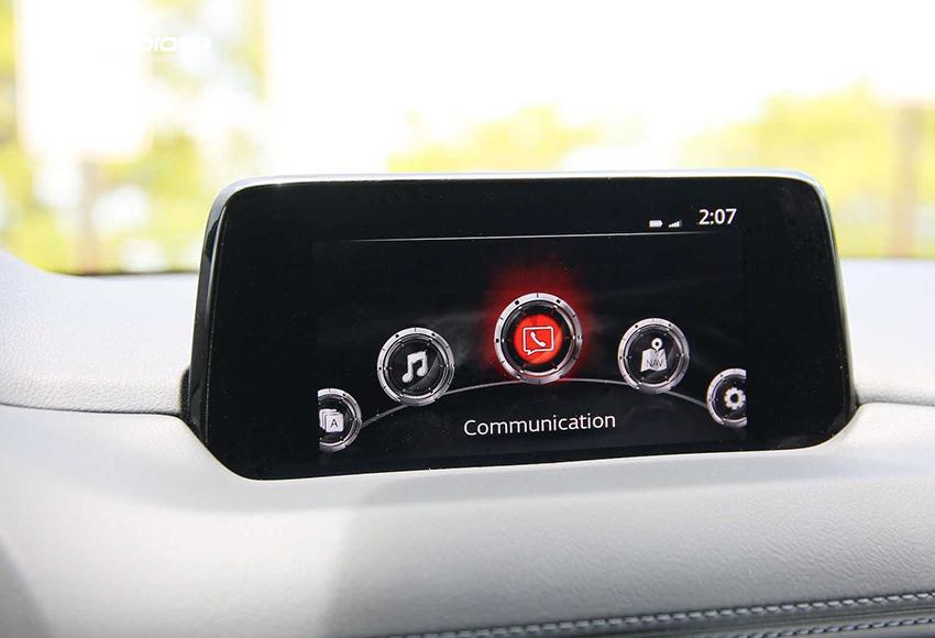 Mazda CX-5 2020 vẫn sử dụng màn hình cảm ứng 7 inch