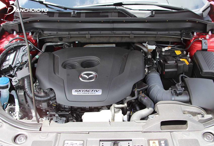 Mazda CX-5 2020 vẫn sử dụng mô hình như trước với 2 tuỳ chọn động cơ 2.0L và 2.5L
