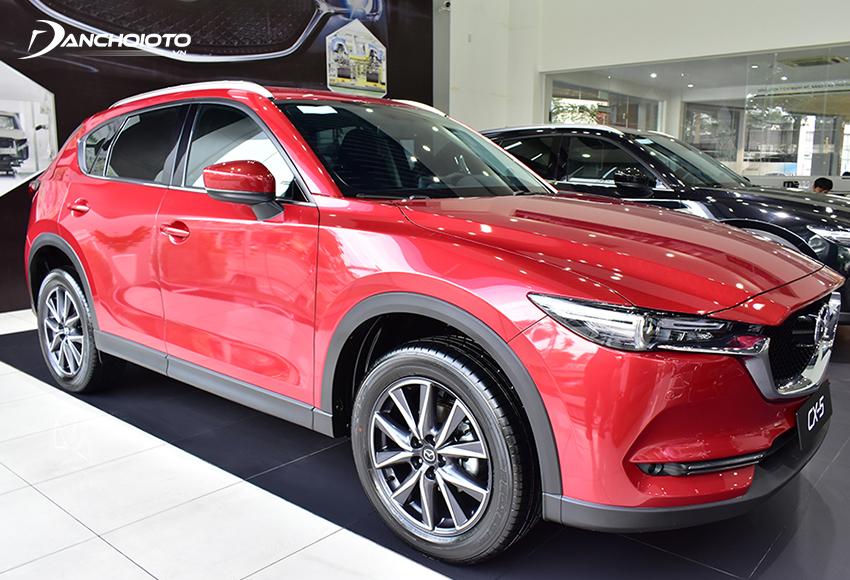 Mazda CX-5 sở hữu thiết kế hiện đại, thời trang đẹp mắt