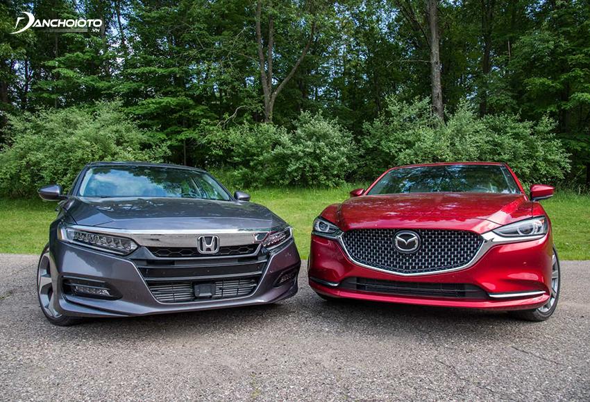 So sánh Accord và Mazda 6, giá xe Mazda 6 thấp hơn khi bản cao nhất chỉ vừa hơn 1 tỷ đồng