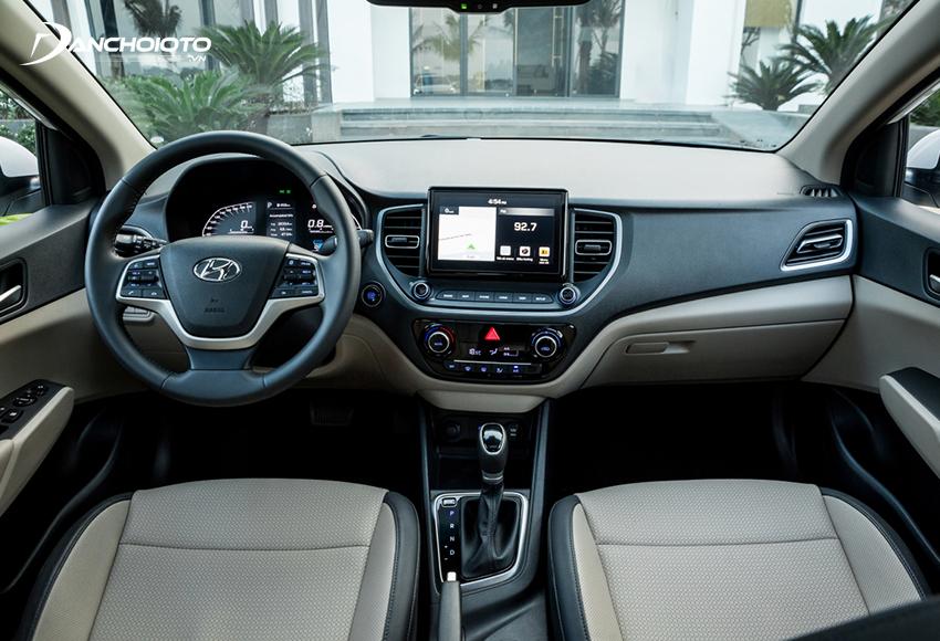 """Thiết kế taplo Hyundai Accent 2021 tiếp tục kế thừa từ """"người tiền nhiệm"""""""