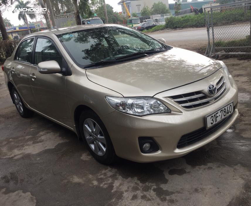 """Toyota Corolla 2010 - 2011 giữ vị thế là """"đàn anh"""" trong dòng xe sedan phổ thông"""
