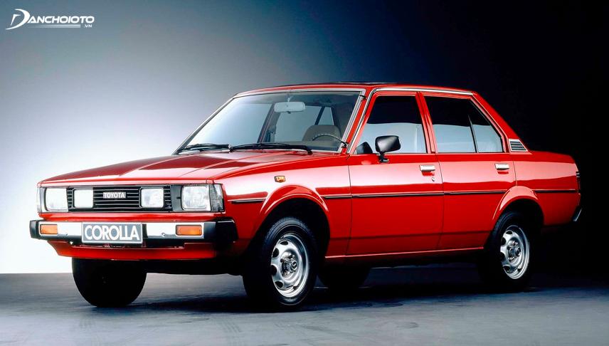 Toyota Corolla phiên bản năm 1980