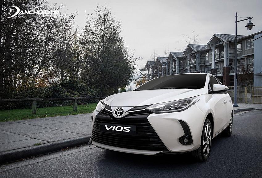 Toyota Vios có rất nhiều nét tương đồng với Yaris