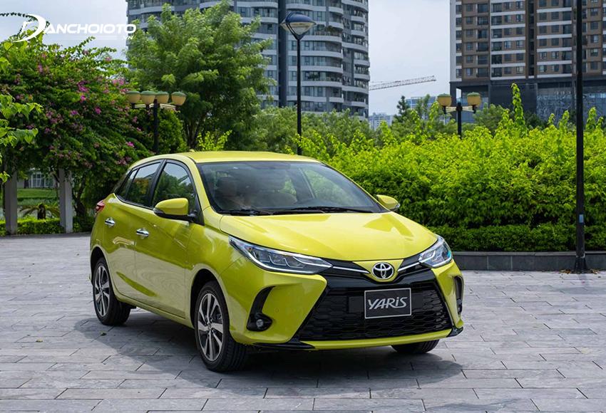 Toyota Yaris 2020 – 2021 được nâng cấp về thiết kế và bổ sung một số trang bị