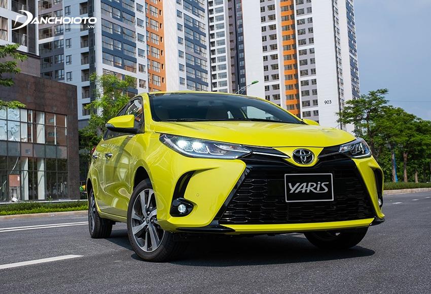 Toyota Yaris 2020 – 2021 được trang bị đèn Full LED đặc sắc