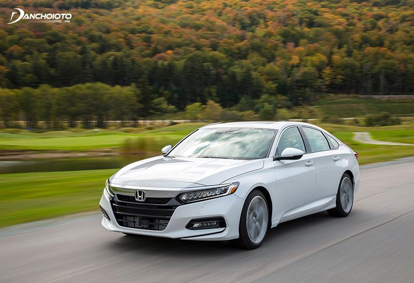 Với Honda Accord 2020, các pha vượt ở vận tốc cao có thể thực hiện đơn giản