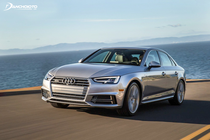Audi A4 overall size is increased compared to the old version