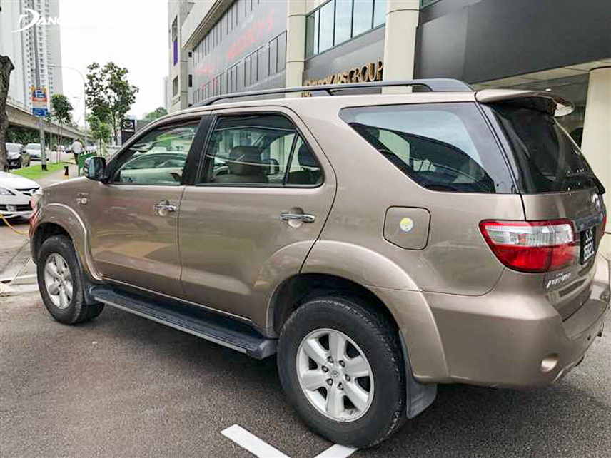 2009 Fortuner can operate smoothly in the street