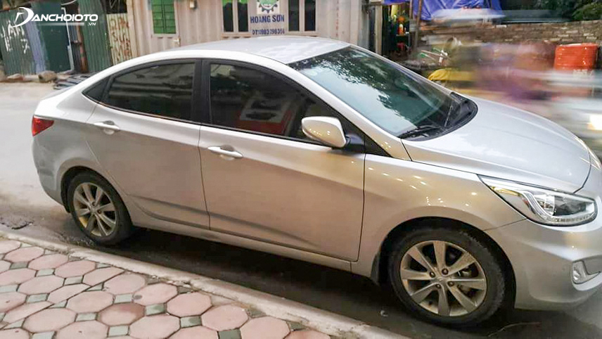 Giá xe Hyundai Accent 2014 cũ dao động từ 400 đến 500 triệu