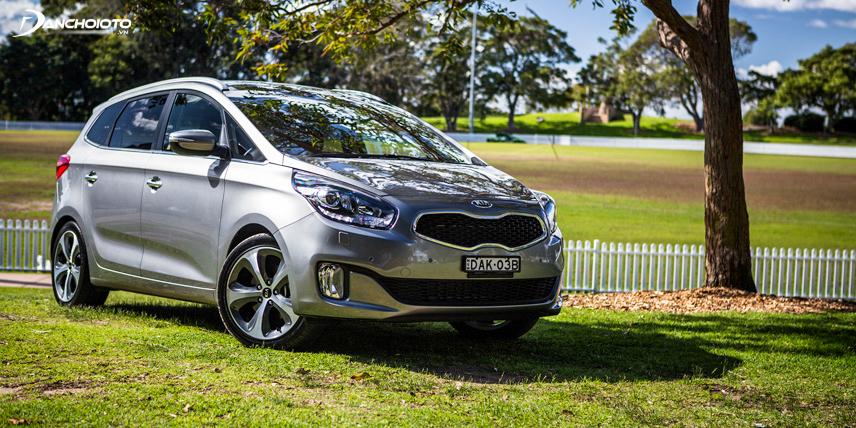 Kia Rondo GMT có khả năng tiết kiệm nhiên liệu cao