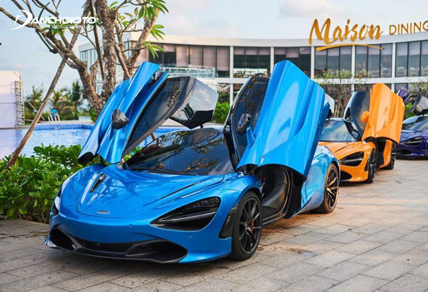 Bộ ba McLaren 720S ở miền Nam