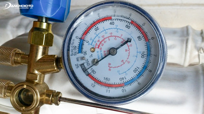 Cold gas meter