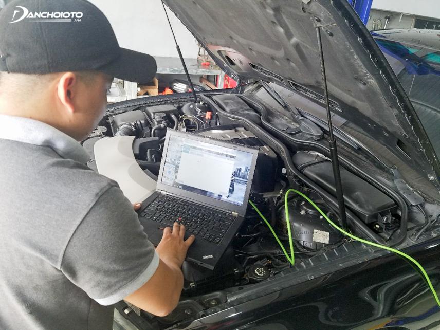 Hiệu chỉnh các bộ phận của xe